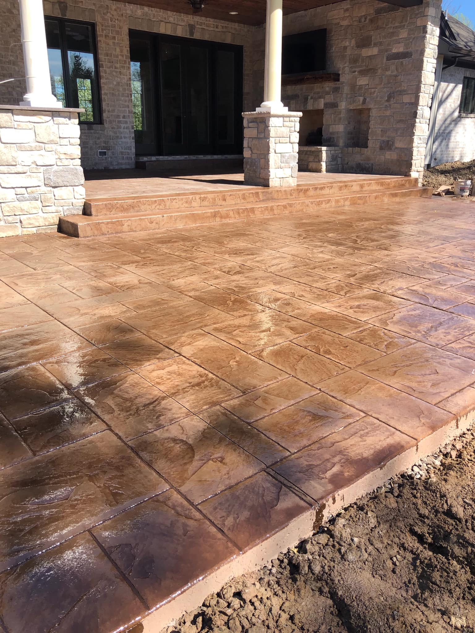 Gallery Stamped A Amp S Hardscapes