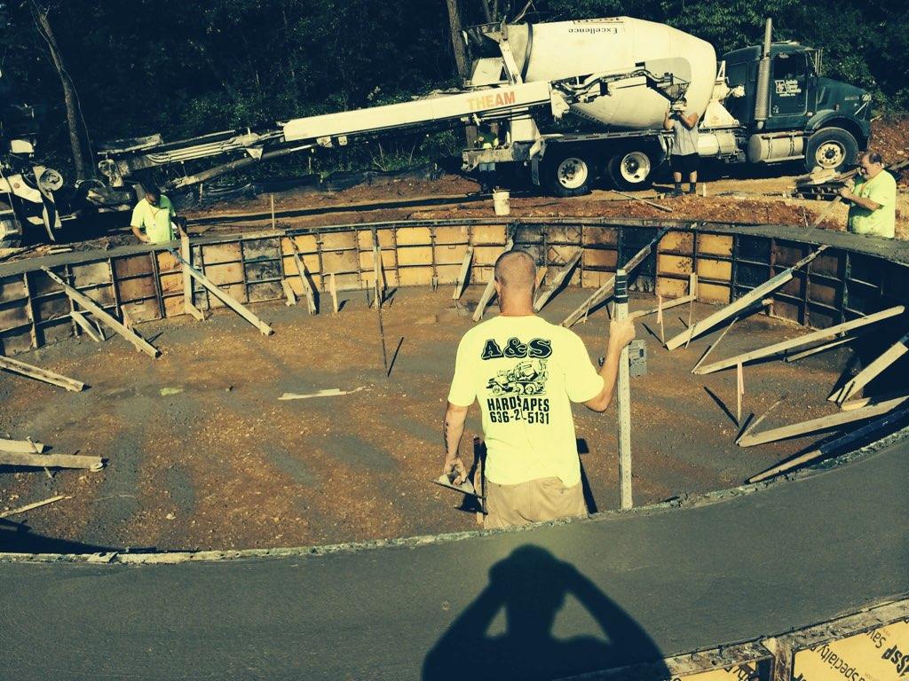 concrete contractors st charles