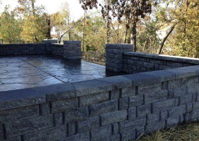retaining walls st charles