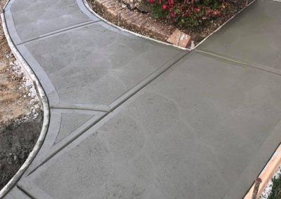 st louis Concrete walk way sidewalk